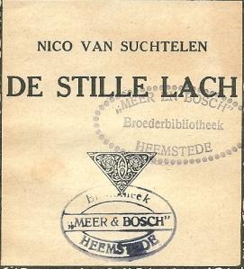 Eigendomsstempel Broeders van Meer en Bosch, instituut voor epilepsiebestrijding, Heemstede