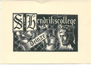 Exlibris St.Hendrikscollege Deinze