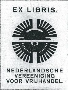 Ex libris Nederlandsche Vereeniging voor Vrijhandel
