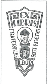 Ex libris Fraterhuis Sint Denis, Tilburg