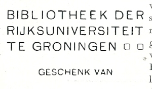 Bibliotheek Rijksuniversiteit Groningen