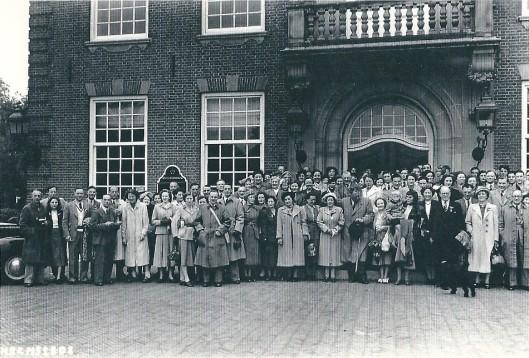 Een tegenbezoek van Leamingtonians aan Heemstede in 1950