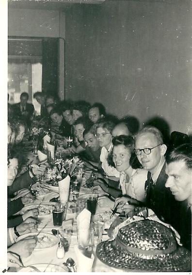 Gezelligheid tijdens het diner