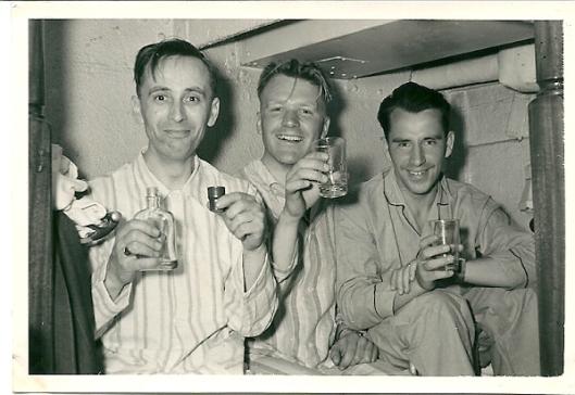 Terugreis op de boot naar Hoek van Holland, nu met Schotse whiskey