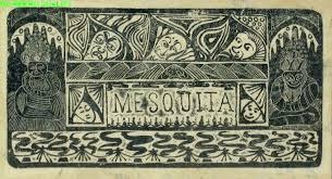 Ex libris Samuel Jessurun de Mesquiita (1868-1944) uit 1898. [Stedelijk Museum Amsterdam]