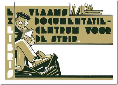 Ex libris Vlaamd Documentatiecentrum voor de Strip, Bibliotheek Turnhout [geopend op 27 februari 2013]