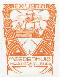 Ex libris Moederhuis Fraters van Tilburg