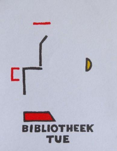 Exlibris Technische Universiteit Eindhoven; door Cees Andriessen