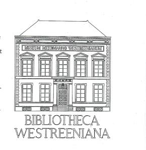 Exlibris Museum Meermanno-Westreenianum/Museum van het Boek; ontworpendoor M.P.Bolten