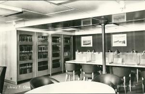 Motorschip Willem Ruys: Library T.Class