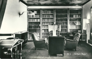 M.s. Willem Ruys. Library First Class