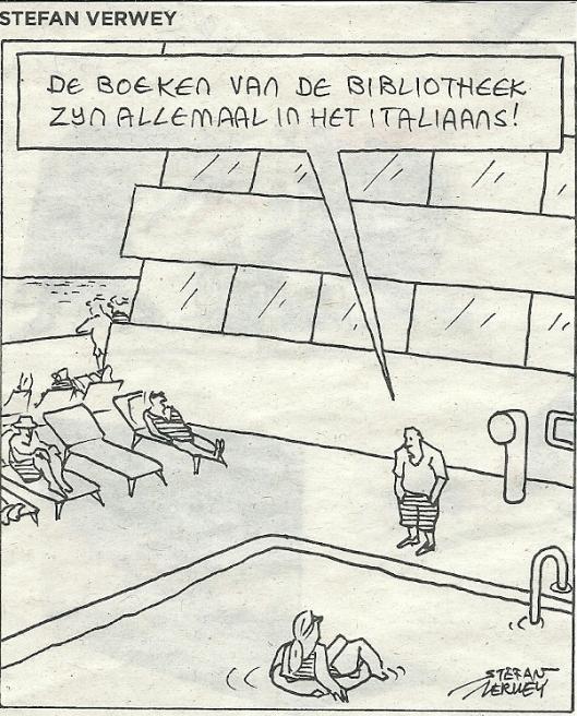 Cartoon van Stefan Verwey (De Volkskrant, 13 juli 2013)