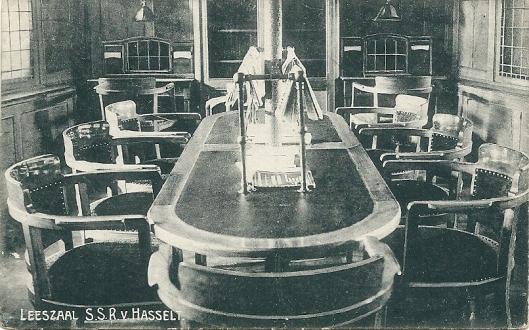 Leeszaal op s.s.r. Van Hasselt