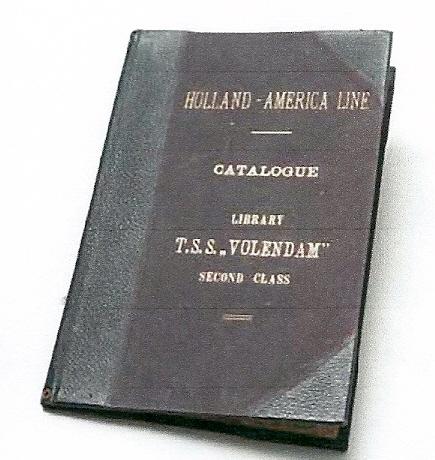 Catalogus van t.s.s Volendam (Holland America Line), circa 1935 (Maritiem museum Rotterdam)