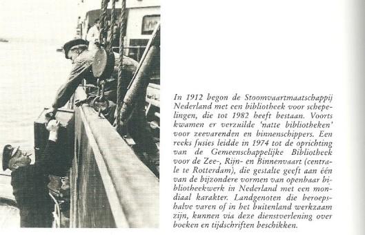 Uit: Paul Schneiders. Lezen voor iedereen; geschiedenis van de openbare bibliotheek in Nederland. Den Haag, NBLC, 1990, p. 200.