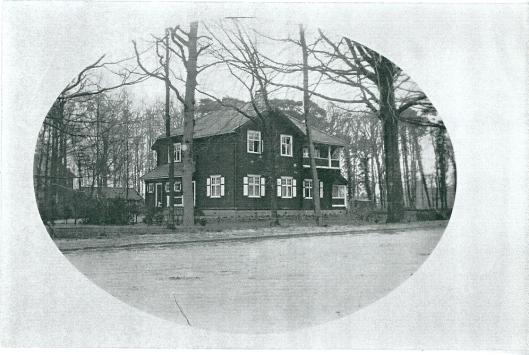 Het Noorse huis de Echo aan de Van Merlenlaan