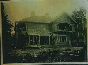 Bouw van de Echo in 1920