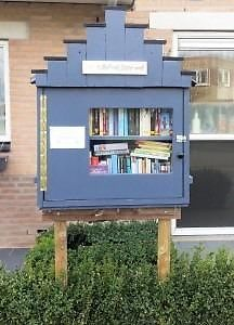 Little Free Library in Faunawijk, Almere