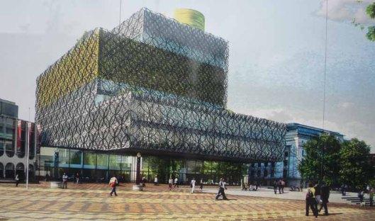 De nieuwe Birmingham central library