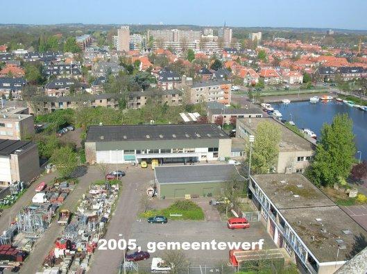 Panorama van de gemeentewerf (fotosvanheemstede.blogspot.nl)