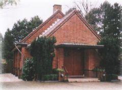 Voorzijde van 's Herenweg, gebedsruimte van de Vergadering der Gelovigen