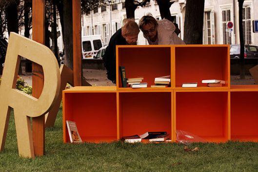 Petite bibliothèque libre in Nancy, Frankrijk