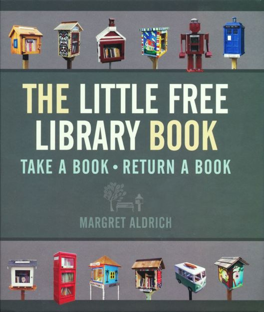 Vooromslag van 'Little free library book' by Margret Aldrich