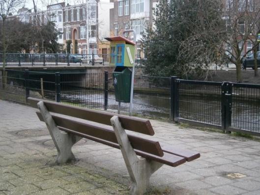 Een minibibliotheek in Den Haag