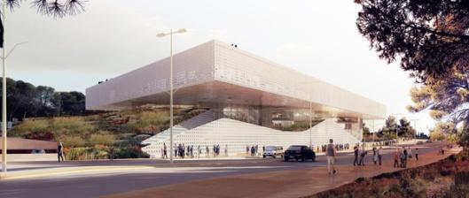Ontwerp van nieuwe Nationale Bibliotheek Israël