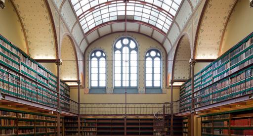 De New York Times noemt de gerenoveerde hoge historische bibliotheek van het Rijksmuseum een lust voor het oog.