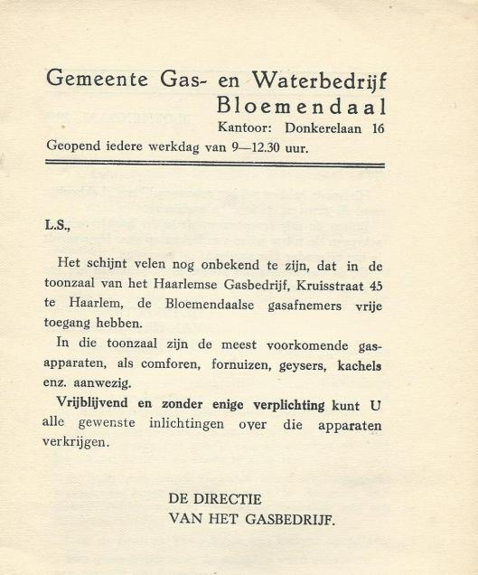 Uit inleiding bij het in 1938 verschenen bakboek.