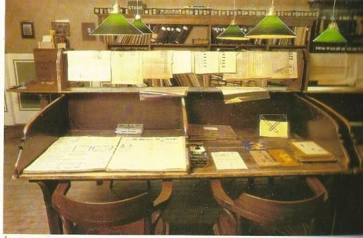 Foto uit 1980 van deel Bibliotheekmuseum in