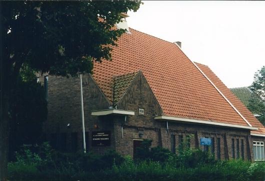 'De Kleine Vermaning', Postlaan 16, nu in gebruik van de Ver. Doopsgezinde Gemeente (foto Olga van der Klooster)