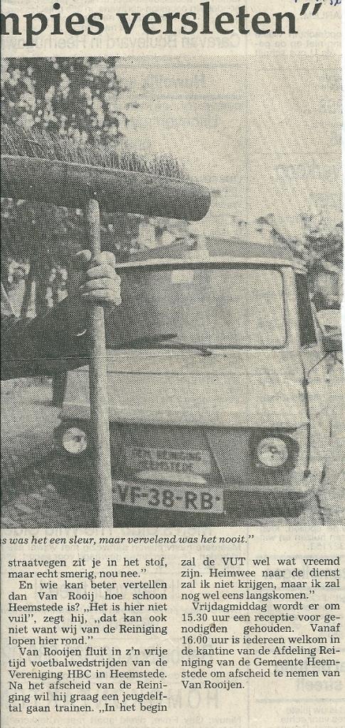Vervolg van artikel H.van Rooijen (Haarlems Dagblad, 27-9-1990)