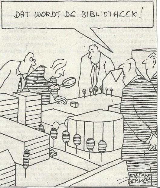 Cartoon uit De Volkskrant door Stefan Verwey, 9 maart 2013