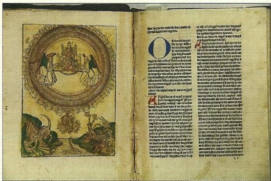Geveild door Bubb Kuyper de incunabel 'Van den proprieteyten der dinghen'(1484). Getaxeerd voor 8.000 tot 10.000 euro en uiteindelijk verkocht voor 15.000 euro