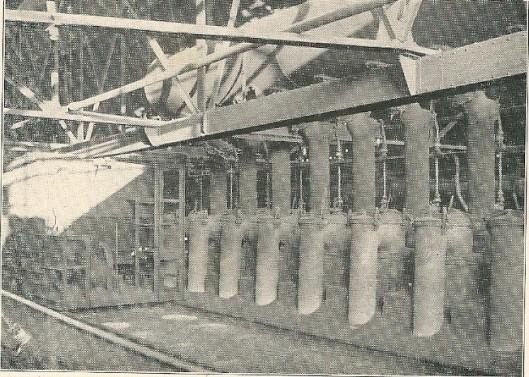 Laadvloer boven de ovens van de gasfabriek in Heemstede