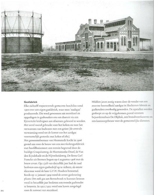 Pagina uit: Een eeuw Heemstede verrassend veranderd. Een uitgave van de gemeente Heemstede uit 1999.