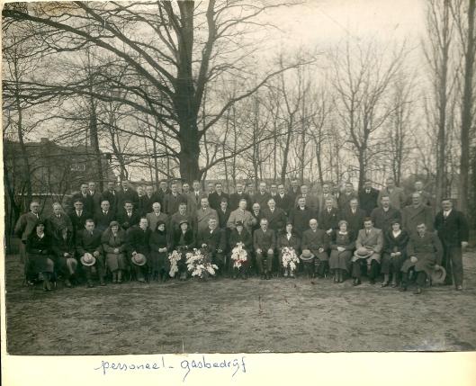 Nog een foto van een nog te traceren jubileum van het gemeentelijk gasbedrijf Heemstede