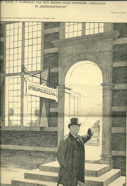 Joh. Baakensiek: Boekenschuw.... Uit: de Amsterdammer, weekblad voor Nederland van 16 maart 1913