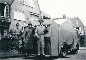 De Amarylluslaan in de bloemenwijk van Heemstede, 1950