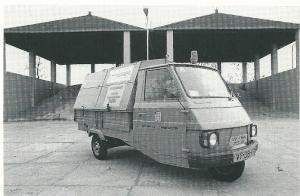 Eind jaren 80 was de Vespacar in Heemstede een vertrouwd gezicht, in 1994 aan vervanging toe,