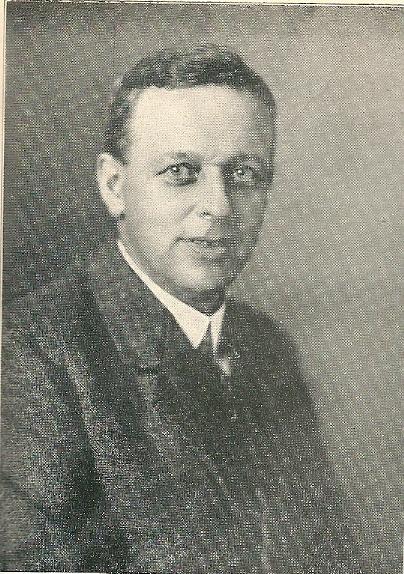 Ir.C.L.Philips, directeur van het gasbedrijf van 1 januari 1917 tot 1 oktober 1920