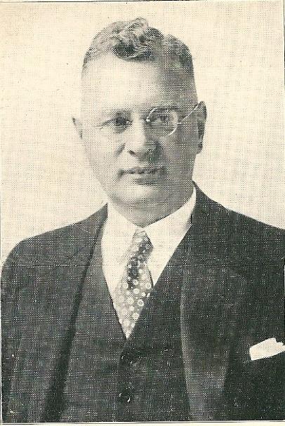 Ir.W.J.A.Duynstee, directeur van het gasbedrijf Heemstede vanaf 1 november 1920