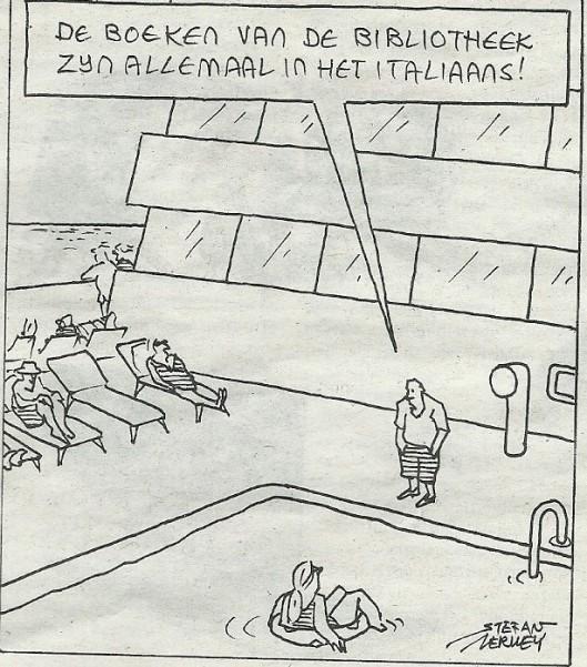 Cartoon Stefan Verwey (De Volkskrant, 13 juli 2013)