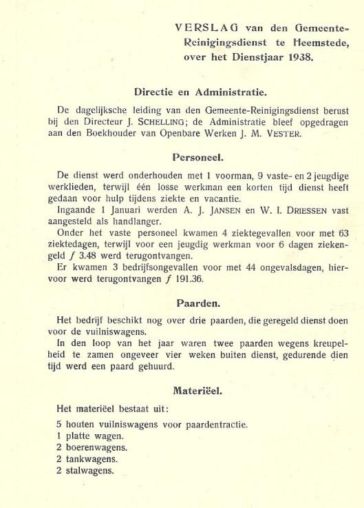 Reinigingsdienst Heemstede 1938 (1)