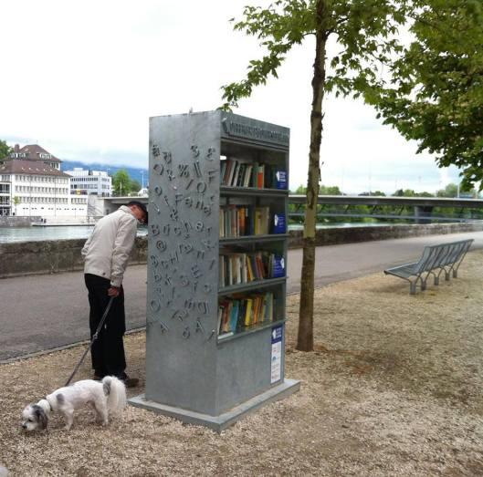Vrije openbare bibliotheek in Solothurn, Zwitserland (Otilia Rosetti)