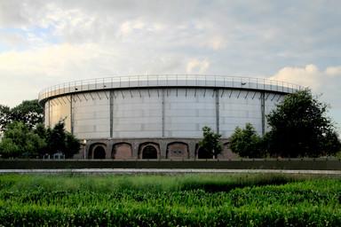 De Westergasfabriek in Amsterdam heeft vandaag de dag een culturele functie (foto Joost van Velsen)