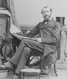 Baron Barthold van Verschuer (1809-1901), vanaf 1835 tot zijn overlijden in 1901 eigenaar van de Hartekamp