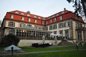 Het huidige slothotel Grunewald bij Berlijn